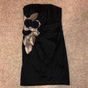 Black mini formal dress
